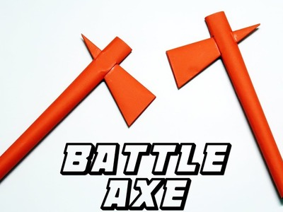How to make a STRONG Paper Battle Axe