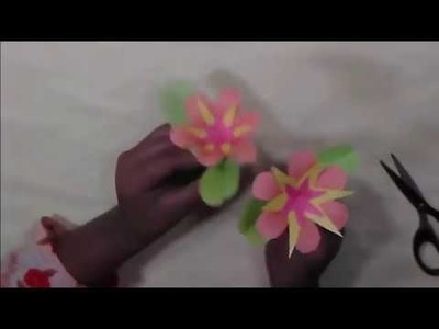 How to Make Awesome paper crafts Ideas || #DIY #Making #Paper #Stick #Flower
