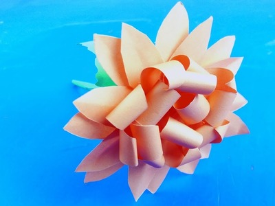How to make beautiful paper flower - Making Paper Flowers Step by Step - 3 Sisters Crafts