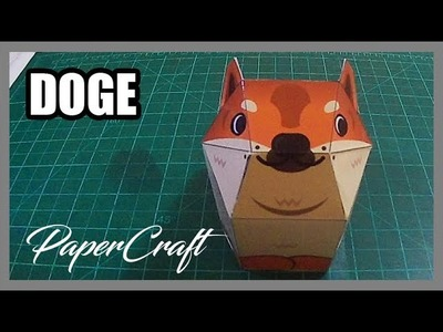 How to make Doge | PaperCraft | Timelapse