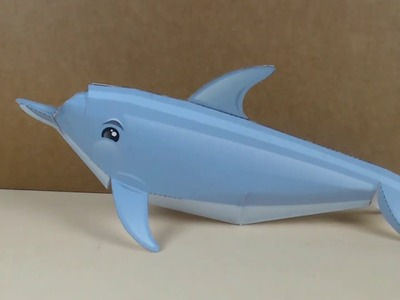 How to make Dolphin with paper | DIY Paper Dolphin | Paper Culture