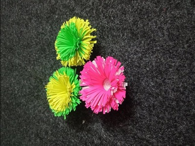 How to make easy paper flower Easy DIY CRAFTS(home decor crafts)