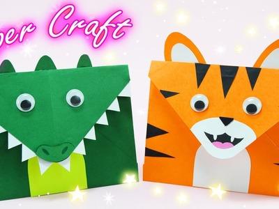 How To Make Envelope - Animal Envelope Making Tutorial