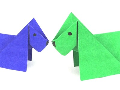 How to Make Paper Dog For Kids | DIY Paper Ideas For Beginners !