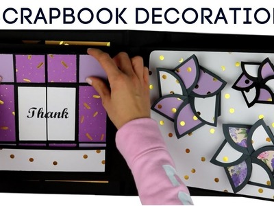 Large Scrapbook Tutorial | SCRAPBOOKING IDEAS