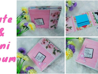Mini Multifold Album || Scrapbook || For Any Occasion || Inspire With Naima