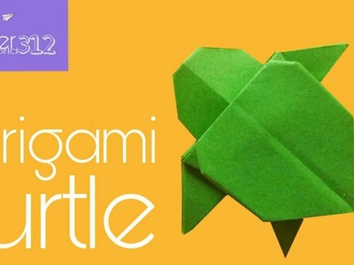 Origami Turtle Instructions and Diagram | 300x400