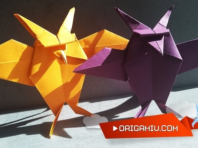 OWL Origami - How to make an owl out of paper?