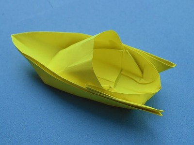 Paper boat origami - how to make a paper boat