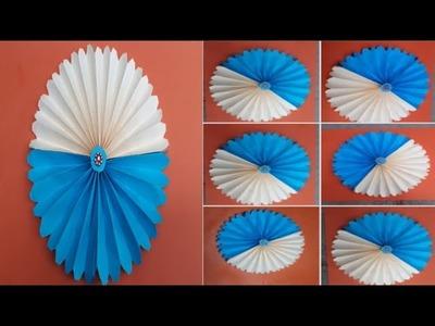 "Paper folding art origami "" how to make papierblumen basteln"