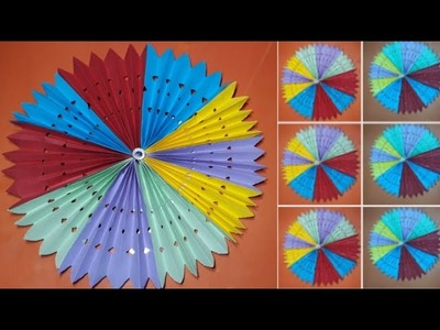 Paper folding art origami how to make paper flower origami
