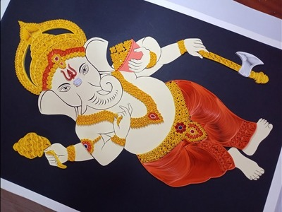 Quilling Ganesha | How to do Quilling