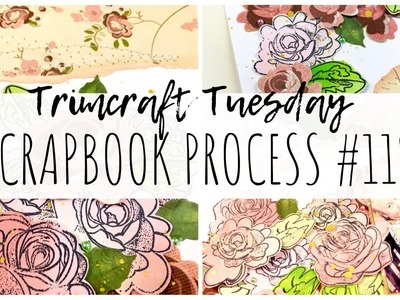 SCRAPBOOK PROCESS | 119 | V&A 2 Collection | Trimcraft Tuesday | ms.paperlover