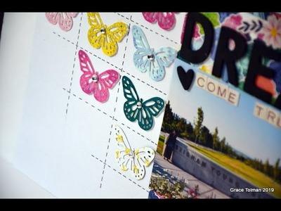 "Scrapbook Process #188 ""Dream Come True"""