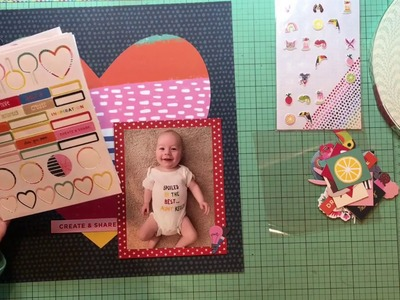 Scrapbook Process #371 Spoiled by the Best