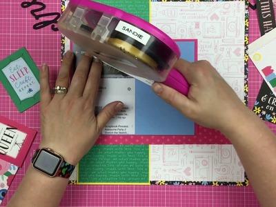 Scrapbook Process: DIY Queen .CTMH. Miranda's Birthday Hop! ***Bonus Video***