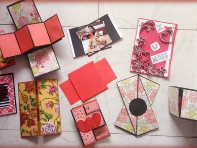 Some beautiful scrapbook cards. TECHNICAL ARTIST
