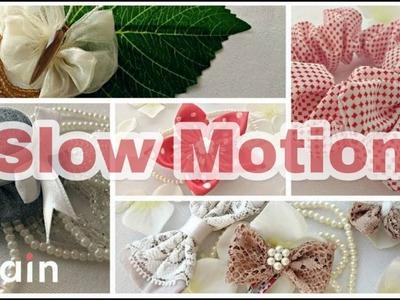 5+ DIY Hair Accessories ''Slow Motion''