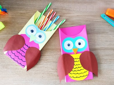 5 WOW-AN-OWL Paper Supplies for Schools | Best DIY Video | 1 Minute Crafts