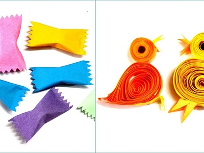 8 Awesome Paper Hacks | Easy to Make Origami Paper DIYs | Paper Birds | #Papercrafts #Origami