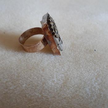 Adjustable rectangular ring