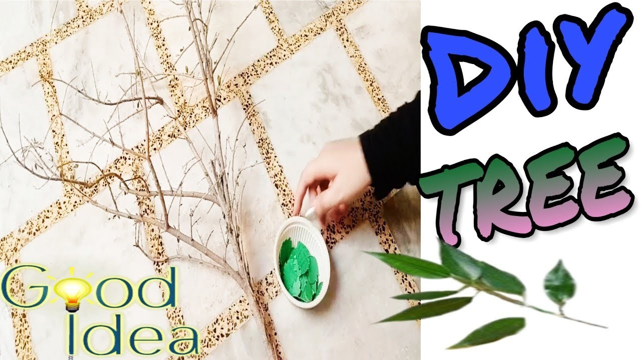 Beautiful home decor tree|सुंदर पेड़ बनाना सीखें|DIY tree|crafts ideas|