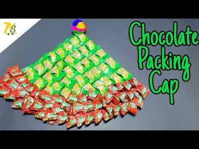 DIY Chocolate Packing | Chocolate Cap | DIY Hand Bouquet Gift | Santa Cap | Just Craft