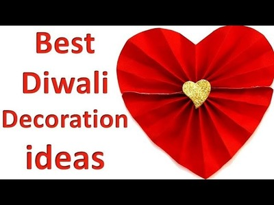 DIY Diwali Home Decoration Ideas || Paper crafts ideas easy || diwali decoration ideas at home easy