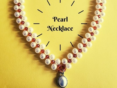 DIY | How to make Pearl Necklace |Tamil