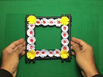 Diy paper flower wall hanging |Simple and beautiful wall hanging|Wall decoration #01