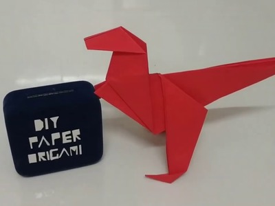DIY Paper Origami - How To Make Easy Origami T-Rex Dinosaur ????