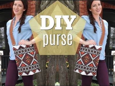 DIY Purse From a Pillowcase | Thrifted