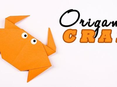 Easy #origami paper #Crab - #Cute origami