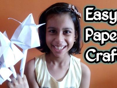 Easy Paper Crafts | Lotus Flower | Tulip Flower | Origami Flower