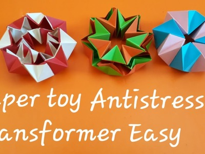 Easy paper crafts without glue ll DIY paper toys easy
