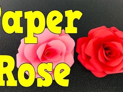 Easy Paper Rose