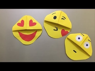 Emoji DIY Origami | Paper Crafts