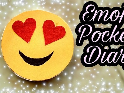 Emoji pocket diary making ||  DIY pocket diary out of Paper || pocket diary craft by VK's ART HOUSE