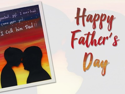 Happy Father's Day| DIY Father's Day Gift| Father's Day Special | Greeting Card