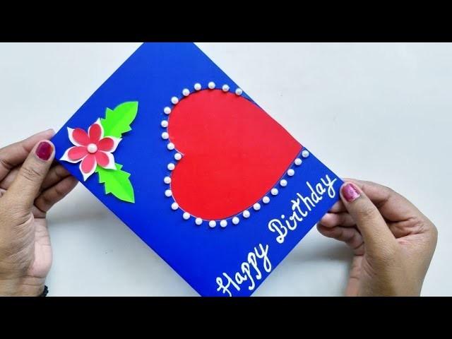 How to make Birthday Card.DIY Handmade Birthday Greeting Card idea.Fathers Day Greeting Card idea.