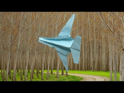 [Origami Paper Jet] how to make easy & simple paper airplane |DIY for kids
