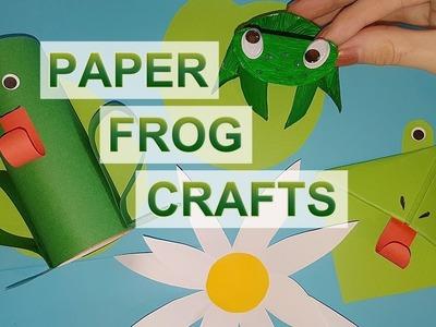 Paper Frog Crafts