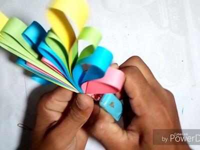 Paper Origami Flower Making  Origami Easy Paper Flower  Easy Ful