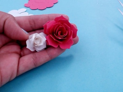 Rolled Paper Flower Tutorial Using The Sizzix Big Shot