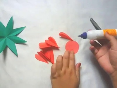Simple Handmade Paper Flowers | DIY Room decoration & Easy Crafts Paper Flower