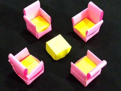 Sofa set   Paper sofa set   origami sofa set   sofa set origami   Paper craft   origami sofa chair