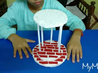 Very easy paper hut making