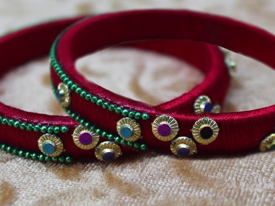 2 Homemade Bangles Jewelry Crafts || DIY Bangles || Best out of waste Bangles