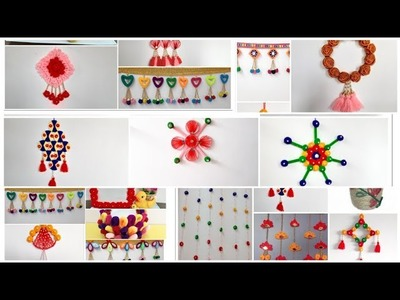 30 wall hanging idea from waste material. 30 crafty DIY to decor your room.Room decor (170)