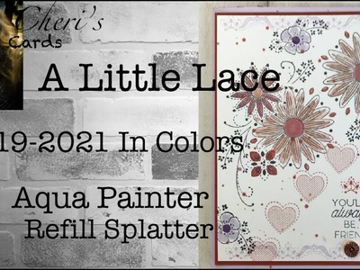 A Little Lace Stampin' Up! In Colors 2019 Easy DIY Handmade Card Color Ideas